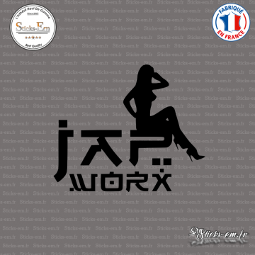 Sticker JDM Jap Worx