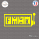 Sticker JDM f-ck machine Sticks-em.fr Couleurs au choix
