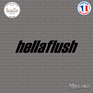 Sticker JDM Hellaflush