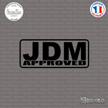 Sticker JDM Approved
