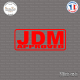 Sticker JDM Approved Sticks-em.fr Couleurs au choix