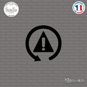 Sticker JDM Avertissement
