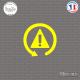 Sticker JDM Avertissement Sticks-em.fr Couleurs au choix