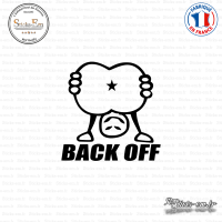 Sticker JDM Back Off