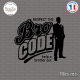 Sticker JDM Bro Code sticks-em.fr