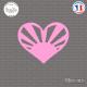 Sticker JDM Coeur Japon Sticks-em.fr Couleurs au choix