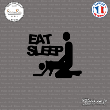 Sticker JDM Eat Sleep