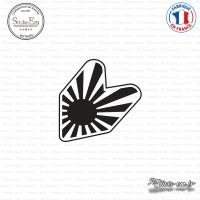 Sticker JDM Ecusson japan