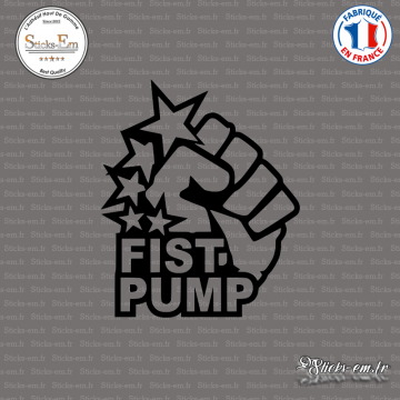 Sticker JDM Fist Pump
