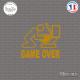 Sticker JDM Game Over Sticks-em.fr Couleurs au choix