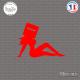 Sticker JDM Girl Mailbox Sticks-em.fr Couleurs au choix