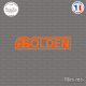 Sticker JDM Golden Sticks-em.fr Couleurs au choix