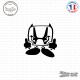 Sticker JDM Honda Devil Sticks-em.fr Couleurs au choix