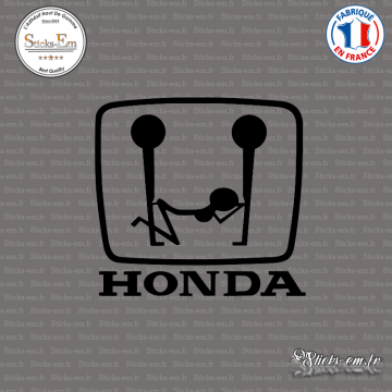 Sticker JDM Honda fun logo