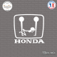 Sticker JDM Honda fun logo Sticks-em.fr Couleurs au choix