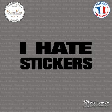 Sticker JDM I Hate Stickers