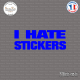 Sticker JDM I Hate Stickers Sticks-em.fr Couleurs au choix