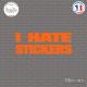 Sticker JDM I Hate Stickers sticks-em.fr