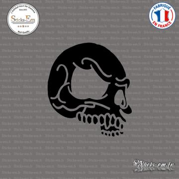 Sticker Tête de Mort V2