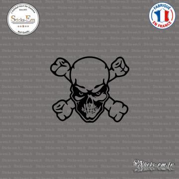 Sticker Tête de Mort x