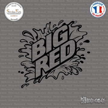 Sticker Big Red