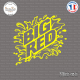 Sticker Big Red Sticks-em.fr Couleurs au choix