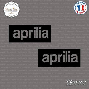 2 Stickers Aprilia
