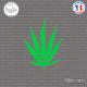 Sticker Feuille de Cana Sticks-em.fr Couleurs au choix