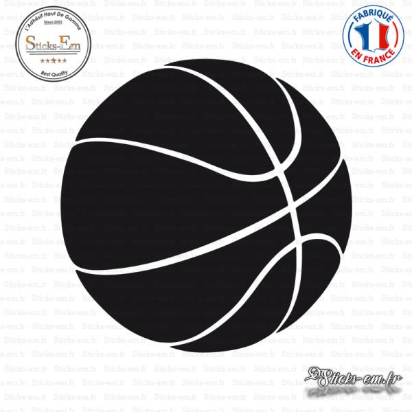 sticker basket Sticker Ballon de basket