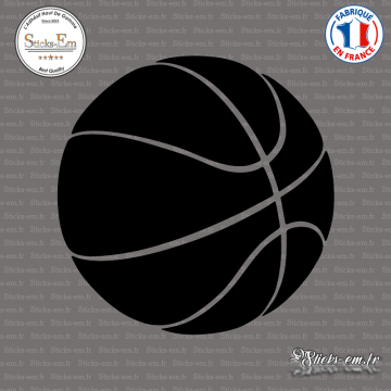 Sticker Ballon de Basket