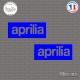 2 Stickers Aprilia Sticks-em.fr Couleurs au choix