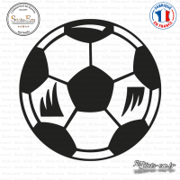 Sticker Ballon de Football Sticks-em.fr Couleurs au choix