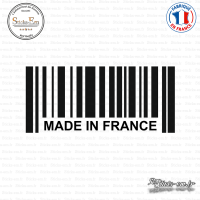 Sticker Code Barre Made in France