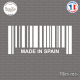 Sticker Code Barre Made in Spain sticks-em.fr