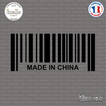 Sticker Code Barre Made in China