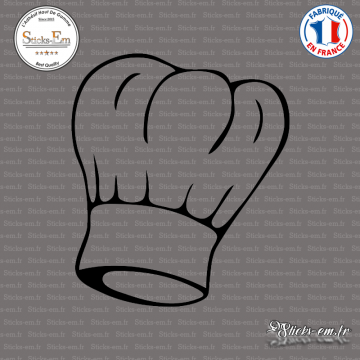 Sticker Toque Chef Cuisine