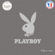 Sticker Lapin Playboy Sticks-em.fr Couleurs au choix