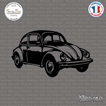 Sticker VW Beetle