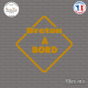 Sticker Breton à bord Sticks-em.fr Couleurs au choix