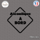 Sticker Alcoolique à bord sticks-em.fr