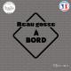 Sticker Beau Gosse à bord sticks-em.fr