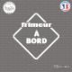 Sticker Frimeur à bord Sticks-em.fr Couleurs au choix
