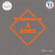Sticker Frimeuse à bord Sticks-em.fr Couleurs au choix