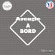 Sticker Aveugle à bord Sticks-em.fr Couleurs au choix