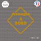Sticker Aveugle à bord sticks-em.fr