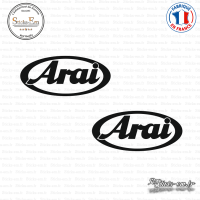 2 Stickers Arai sticks-em.fr