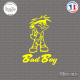 Sticker Bad Boy Sticks-em.fr Couleurs au choix