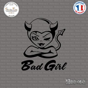 Sticker JDM Bad Girl Diablesse