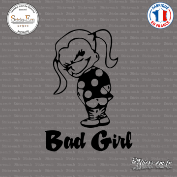 Sticker JDM Bad Girl