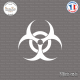 Sticker Biohazard Sticks-em.fr Couleurs au choix
